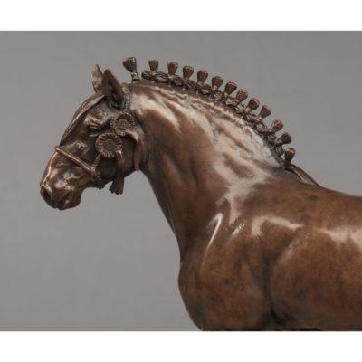 SHIRE HORSE (GRANGE FARM LADY FIONA)