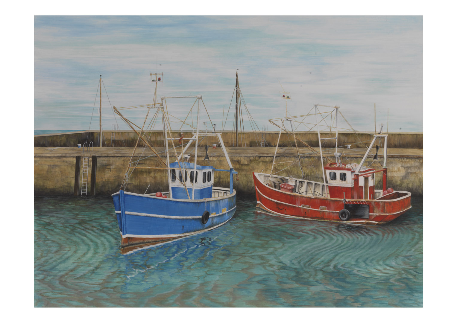 Little fishing boats steve russell gallery for Little fishing boats